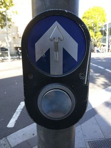 Pedestrian cross button